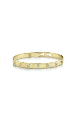 Shy Creation 14k Yellow Gold .32ctw Diamond Bangle Bracelet SC55020133ZS product image