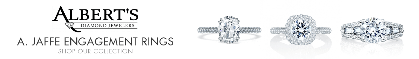 A. Jaffe Engagement Rings at Albert's Diamond Jewelers