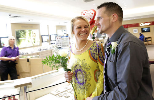 Say I do at Albert's Jewelers this Valentine's Day