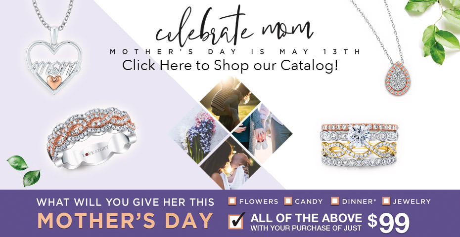 Mother's Day $99 Promotion at Albert's Diamond Jewelers