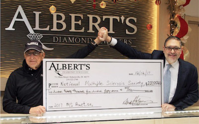 15th Annual Auction – Albert's Diamond Jewelers