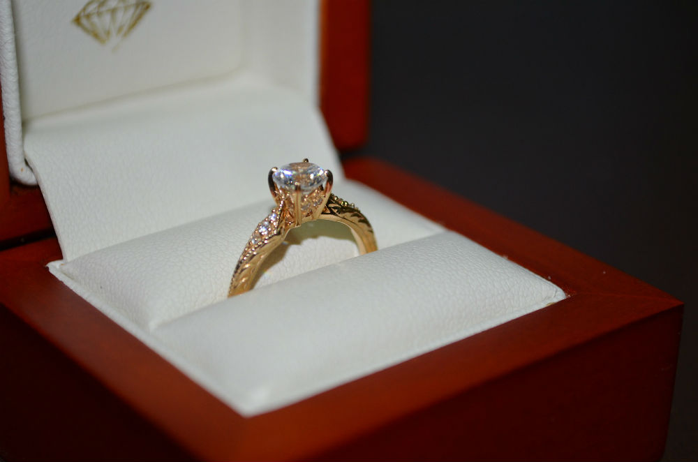 Engagement rings at Albert's Diamond Jewelers