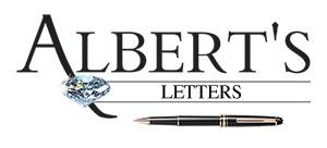Albert's Letters: Chris Savickis