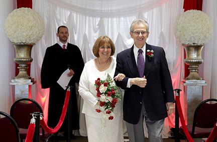 Spirit of love flourishes at Albert's nuptials
