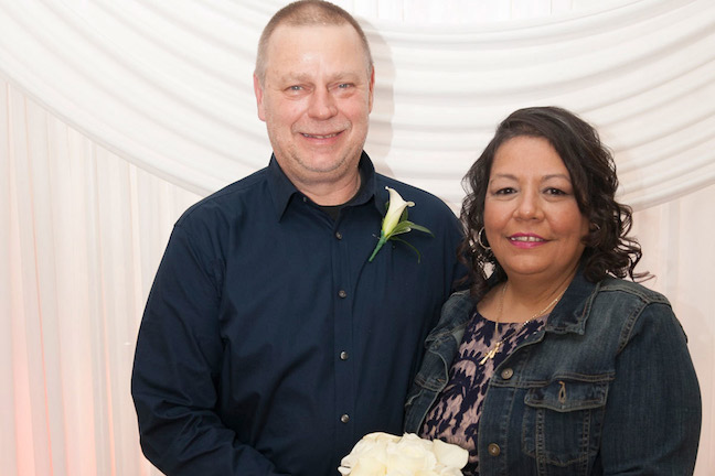 Wedding Couple One Year Later: 10 Years in the Making