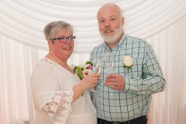 Albert's Wedding Couple One Year Later