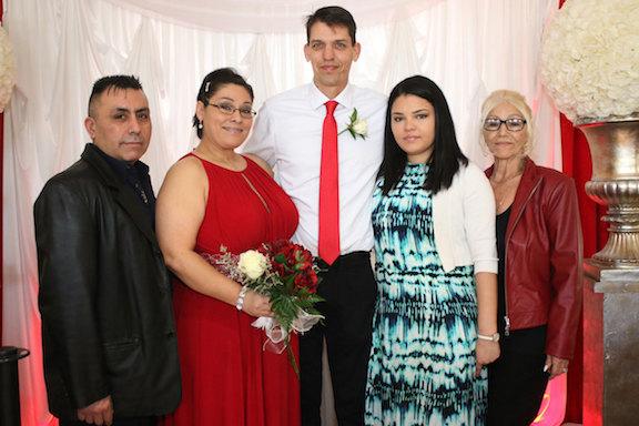 Albert's Celebrates Valentine's Day By Wedding Couples