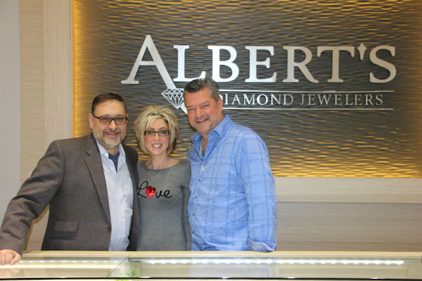 Speros and Aimee: Engaged With Albert's