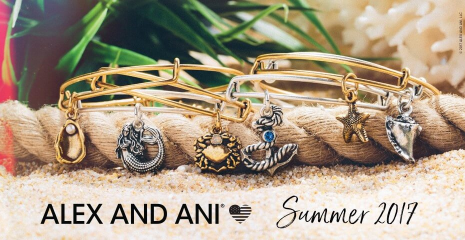 Alex and Ani Summer 2017 Collection at Albert's Diamond Jewelers