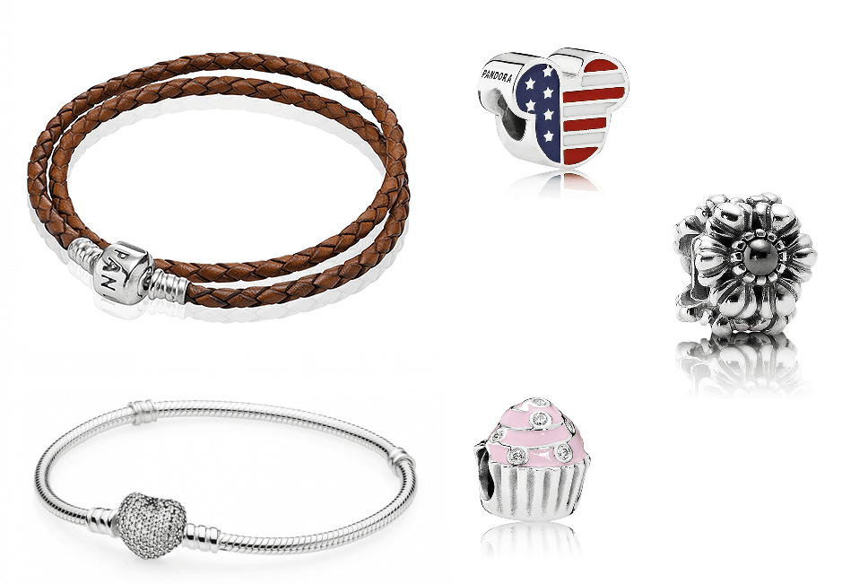 Charms and Bracelets from Pandora