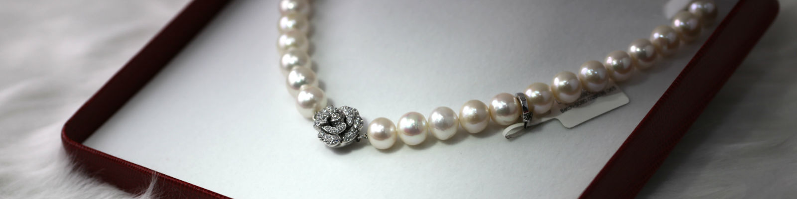 Pearl Necklaces at Albert's Diamond Jewelers