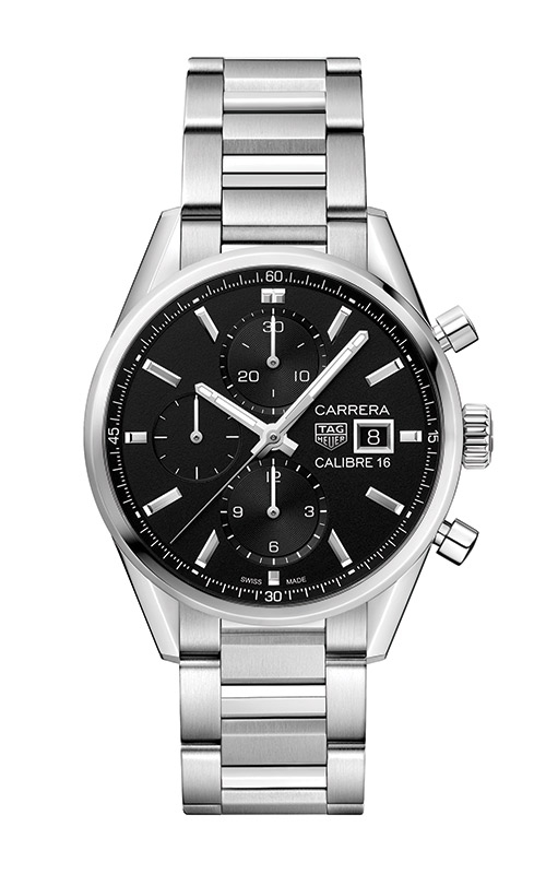 TAG Heuer Carrera 41mm Chronograph Calibre 16 Automatic Watch CBK2110.BA0715 product image