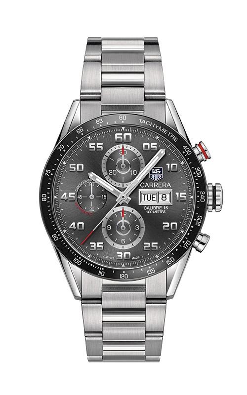 TAG Heuer Carrera 43mm Chronograph Calibre 16 Automatic Watch CV2A1U.BA0738 product image