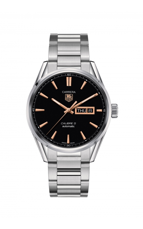 TAG Heuer Carrera 41mm Calibre 5 Automatic Watch WAR201C.BA0723 product image