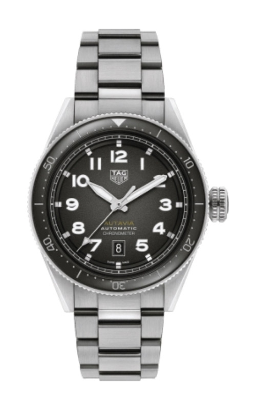 TAG Heuer Autavia 42mm Calibre 5 COSC Automatic Watch WBE5114.EB0173 product image