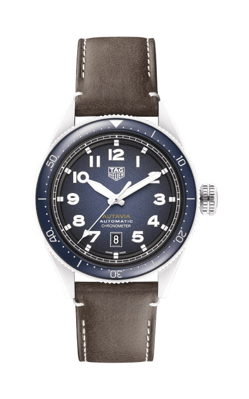 TAG Heuer Autavia 42mm Calibre 5 COSC Automatic Watch WBE5116.FC8266 product image