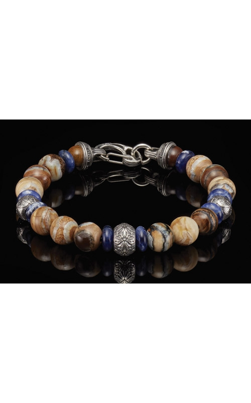 William Henry Boots and Denim Woolly Mammoth Tooth Men's Bracelet BB9 MT product image